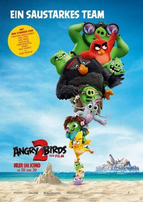 Plakatmotiv: Angry Birds 2 - Der Film