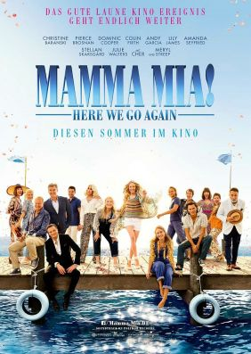 Plakatmotiv: Mamma Mia! Here We Go Again