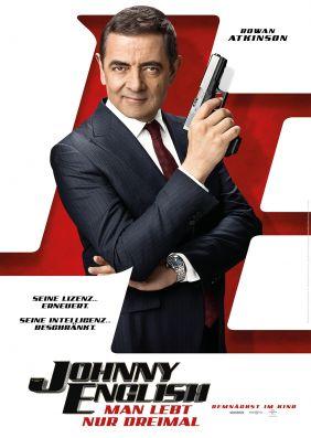Plakatmotiv: Johnny English - Man lebt nur dreimal