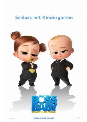 Plakatmotiv: Boss Baby - Schluss mit Kindergarten