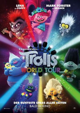Plakatmotiv: Trolls World Tour