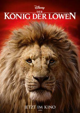 Plakatmotiv: Der König der Löwen