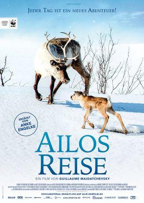 Plakatmotiv: Ailos Reise - Grosse Abenteuer beginnen mit kleinen Schritten
