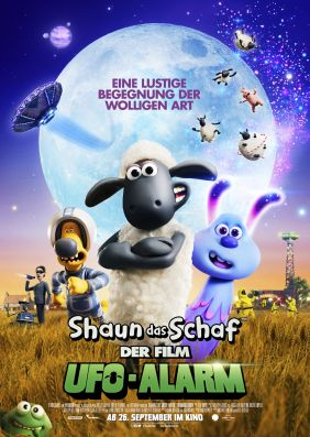 Plakatmotiv: Shaun das Schaf - Der Film: UFO-Alarm