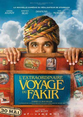 Plakatmotiv: Die unglaubliche Reise des Fakirs, der in einem Kleiderschrank feststeckte
