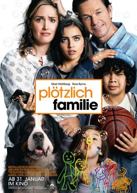 Plakatmotiv: Plötzlich Familie