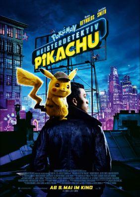 Plakatmotiv: Pokémon Meisterdetektiv Pikachu