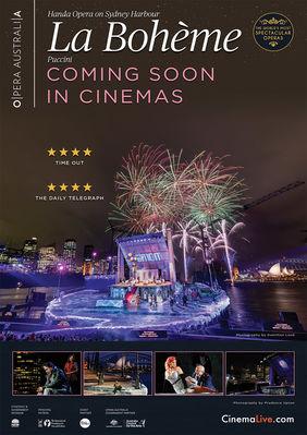 Plakatmotiv: Handa Opera on Sydney Harbour: La Bohème 2018
