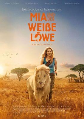 Plakatmotiv: Mia und der weiße Löwe