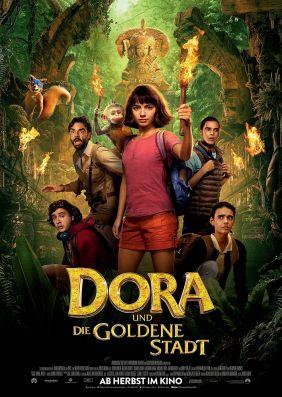 Plakatmotiv: Dora und die goldene Stadt