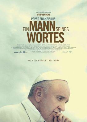 Plakatmotiv: Papst Franziskus - Ein Mann seines Wortes