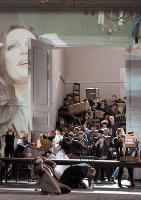 Plakatmotiv: Royal Opera House 2018/19: La Forza del Destino (Die Macht des Schicksals)