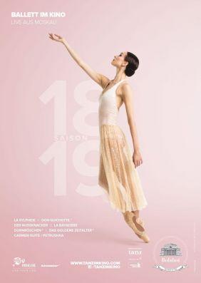 Plakatmotiv: Bolshoi Ballett 2018/19: Don Quichote