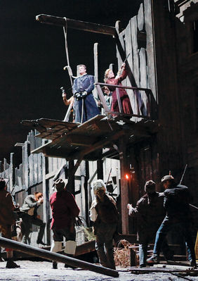 Plakatmotiv: Met Opera 2018/19: La Fanciulla del West (Puccini )