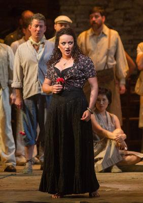 Plakatmotiv: Met Opera 2018/19: Carmen (Bizet)