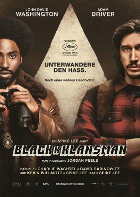 Plakatmotiv: BlacKkKlansman