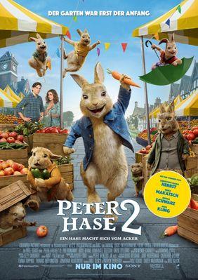 Plakatmotiv: Peter Hase 2 - Ein Hase macht sich vom Acker