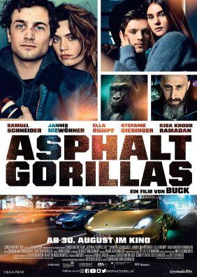 Plakatmotiv: Asphaltgorillas