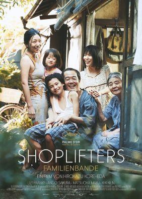 Plakatmotiv: Shoplifters - Familienbande