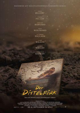 Plakatmotiv: Der Distelfink