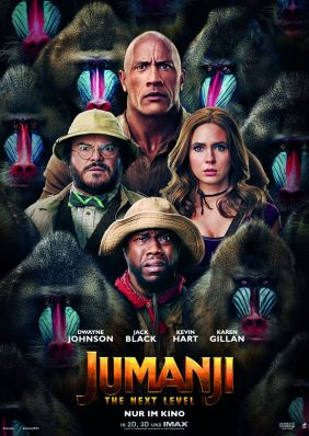 Plakatmotiv: Jumanji: The next Level