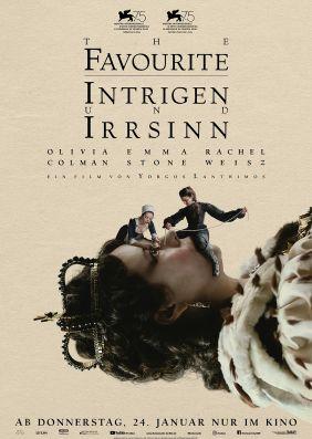 Plakatmotiv: The Favourite - Intrigen und Irrsinn