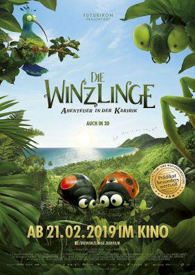 Plakatmotiv: Die Winzlinge - Abenteuer in der Karibik