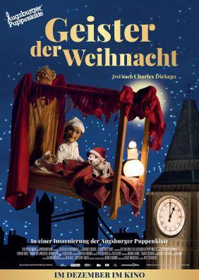 Plakatmotiv: Geister der Weihnacht - Augsburger Puppenkiste