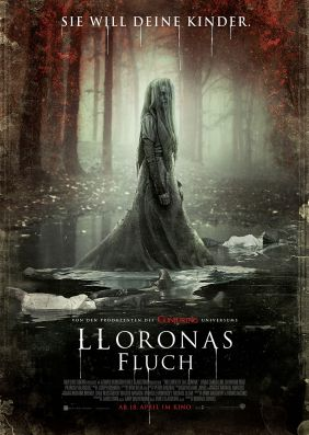 Plakatmotiv: Lloronas Fluch