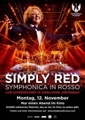 Plakatmotiv: Simply Red: Symphonica in Rosso