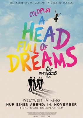 Plakatmotiv: Coldplay - A Head full of Dreams
