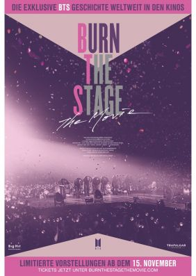 Plakatmotiv: Burn The Stage: The Movie