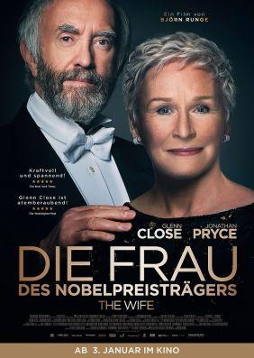 Plakatmotiv: Die Frau des Nobelpreisträgers
