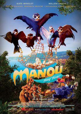 Plakatmotiv: Manou - flieg' flink!