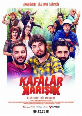 Plakatmotiv: Kafalar Karisik - Wir sind so verwirrt