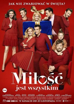 Plakatmotiv: Milosc jest wszystkim (Liebe ist alles)
