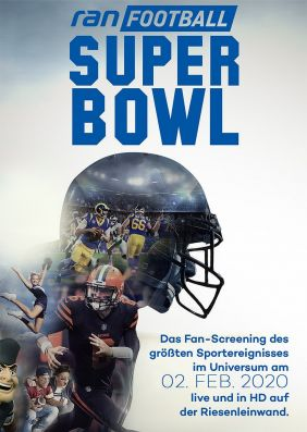 Plakatmotiv: Super Bowl LIVE 2020