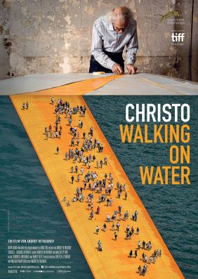 Plakatmotiv: Christo - Walking on Water