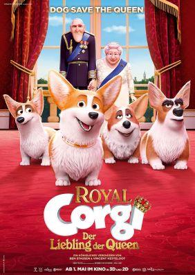 Plakatmotiv: Royal Corgi - Der Liebling der Queen