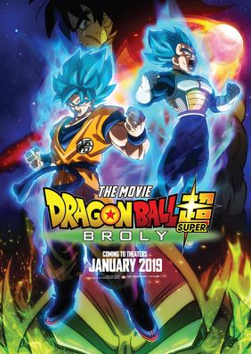 Plakatmotiv: Anime Night 2019: Dragonball Super: Broly