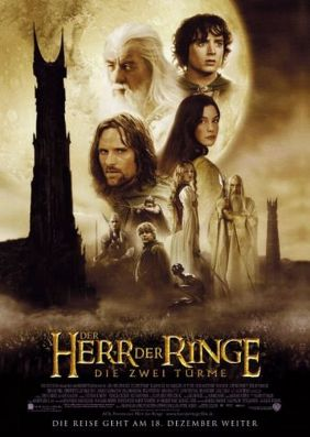 Plakatmotiv: Der Herr der Ringe - Die zwei Türme (Extended Version)