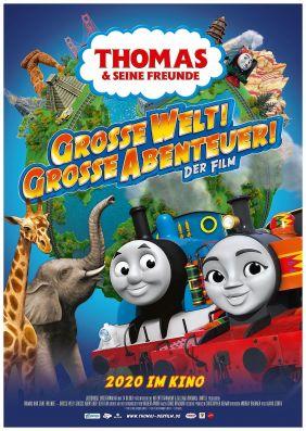 Plakatmotiv: Thomas & seine Freunde - Große Welt! Große Abenteuer!