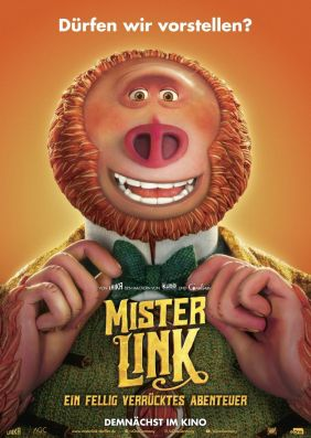 Plakatmotiv: Mister Link - Ein fellig verrücktes Abenteuer