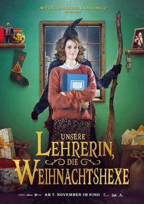 Plakatmotiv: Unsere Lehrerin, die Weihnachtshexe