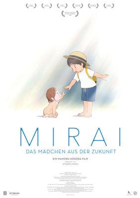 Plakatmotiv: Anime Night 2019: Mirai - das Mädchen aus der Zukunft