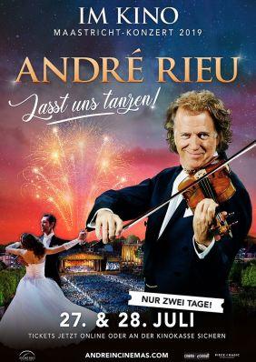 Plakatmotiv: André Rieu - Maastricht-Konzert 2019: Lasst uns tanzen!
