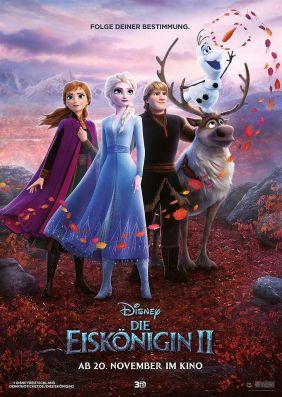 Plakatmotiv: Die Eiskönigin 2