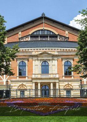 Plakatmotiv: Bayreuther Festspiele 2019: Tannhäuser und der Sängerkrieg auf Wartburg