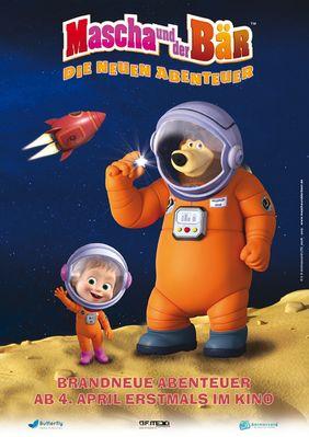 Plakatmotiv: Mascha und der Bär - Die neuen Abenteuer