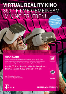 Plakatmotiv: Virtual Reality Kino